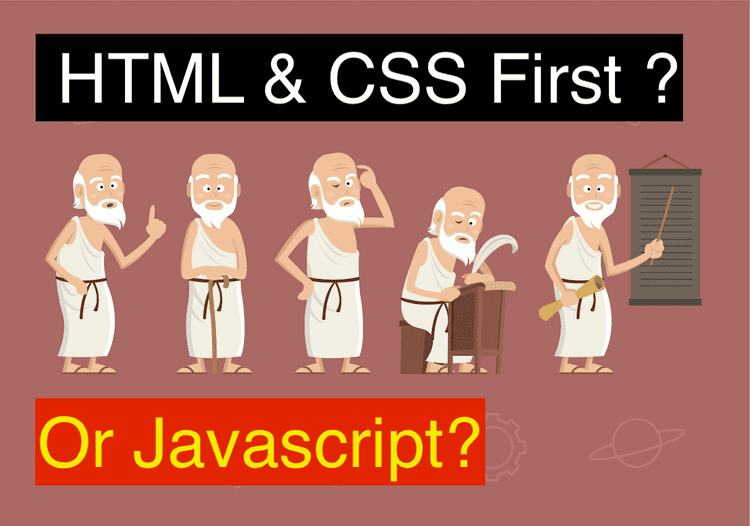 html and css before javascript